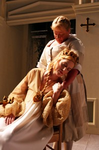 Suzanne Warmanen and Cate Scott Campbell in South Coast Repertor