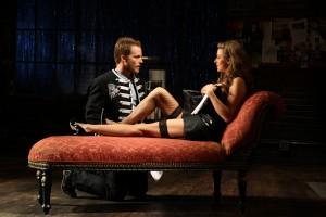Graham Hamilton and Jaimi Paige in South Coast Repertory's 2014
