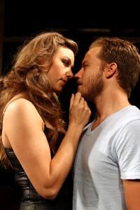 Jaimi Paige and Graham Hamilton in South Coast Repertory's 2014