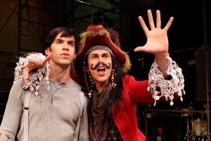 Wyatt Fenner and Matt McGrath in South Coast Repertory's 2015 pr