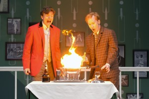 William Connell and Dan Donohue in ONE MAN, TWO GUVNORS by Richa