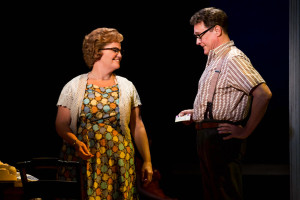 "Mary Callanan and David Hess in the Tony Award-winning ""The Bridges of Madison County"" The Broadway Musical at the Center Theatre Group/Ahmanson Theatre, December 8, 2015, through January 17, 2016. ""Bridges"" has a book by Marsha Norman, music and lyrics by Jason Robert Brown and is based on the novel by Robert James Waller. Bartlett Sher directs. Tickets are available at CenterTheatreGroup.org or by calling (213) 972-4400.   Contact: CTG Media and Communications / (213) 972-7376 CTGMedia@centertheatregroup.org  Photo by Matthew Murphy"